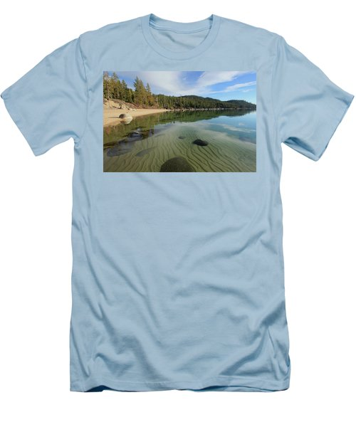 Men's T-Shirt (Athletic Fit) featuring the photograph Do You Speak The Language Of Sands by Sean Sarsfield