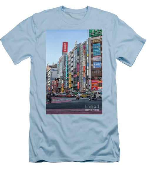 Downtown Tokyo Men's T-Shirt (Athletic Fit)