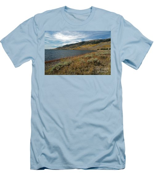 Fish Lake Ut Men's T-Shirt (Slim Fit) by Cindy Murphy - NightVisions