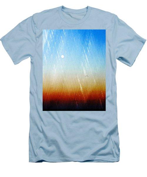 Flight Men's T-Shirt (Slim Fit) by Allen Beilschmidt