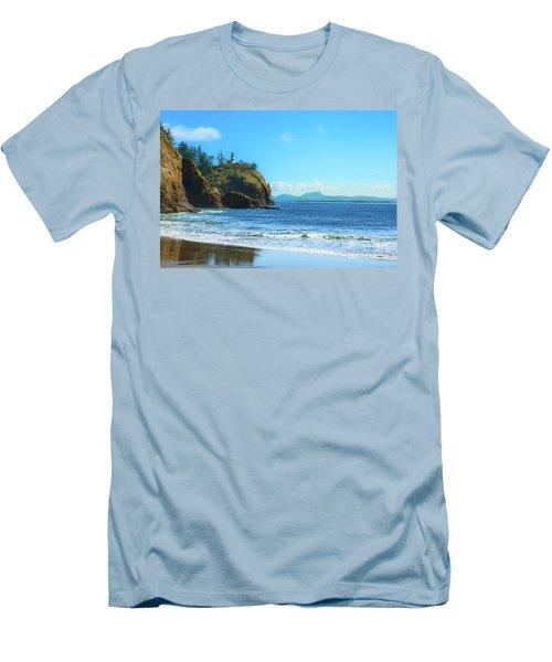 Great View Men's T-Shirt (Slim Fit) by Robert Bales