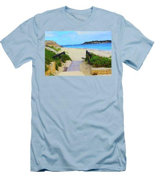 Hamelin Bay Men's T-Shirt (Slim Fit) by Cassandra Buckley