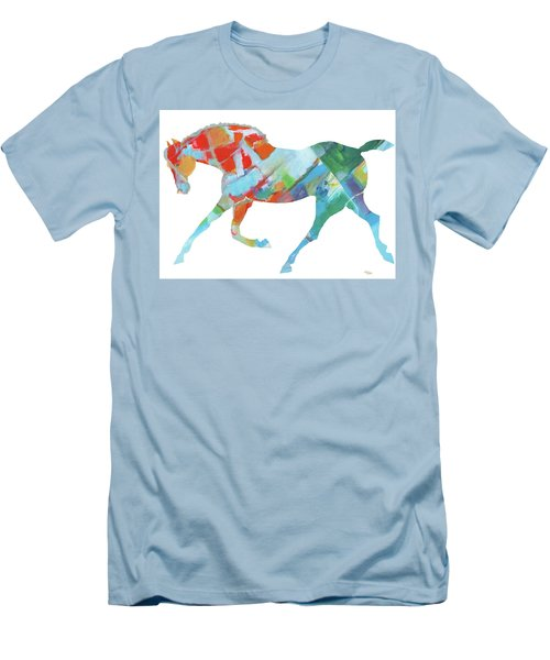 Horse Of Color Men's T-Shirt (Athletic Fit)