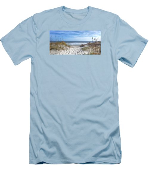 Huntington Beach South Carolina Men's T-Shirt (Athletic Fit)