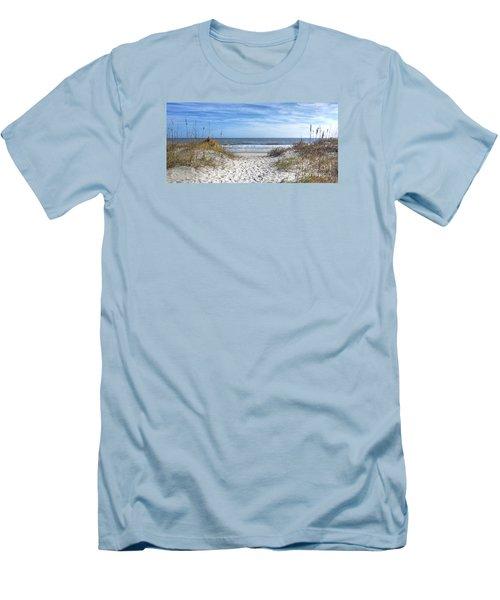 Huntington Beach South Carolina Men's T-Shirt (Slim Fit)
