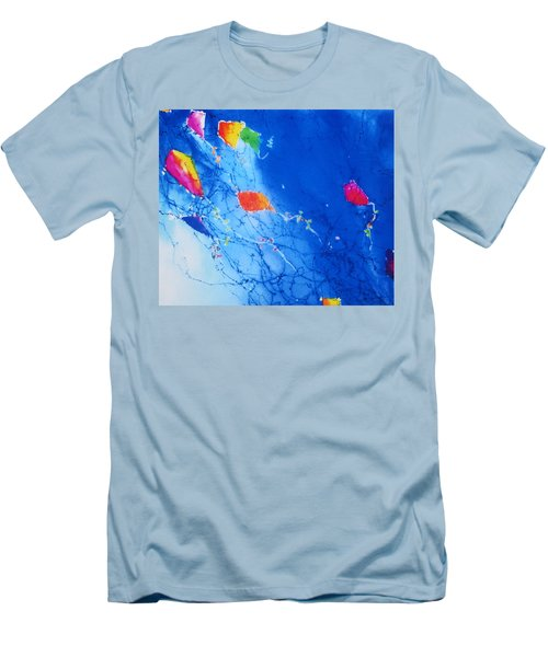 Kite Sky Men's T-Shirt (Athletic Fit)