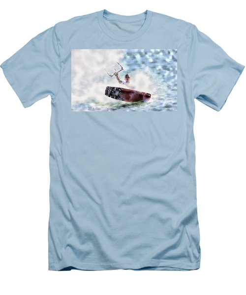 Kitesurf  Men's T-Shirt (Athletic Fit)