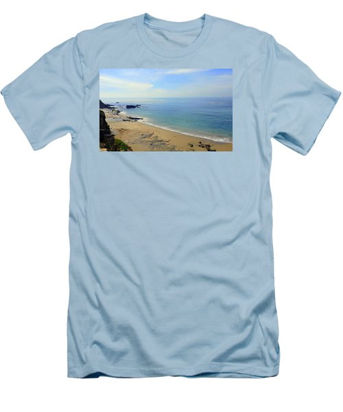 Laguna Beach California Men's T-Shirt (Athletic Fit)