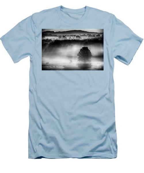 Morning Fog Men's T-Shirt (Slim Fit) by Nicki McManus