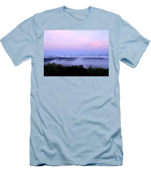 Morning Mist Men's T-Shirt (Athletic Fit)