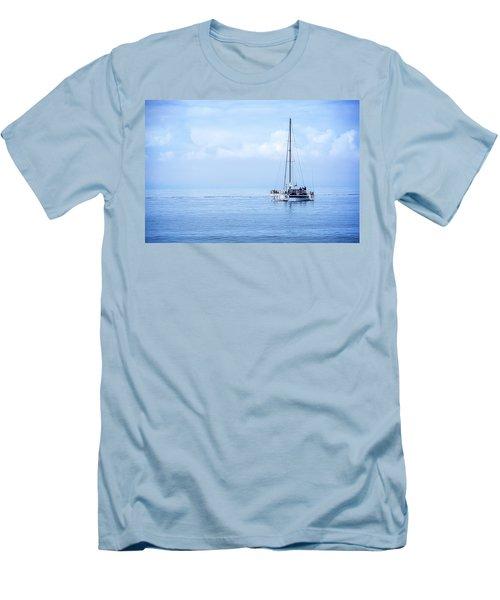 Morning Sail Men's T-Shirt (Slim Fit) by James Hammond