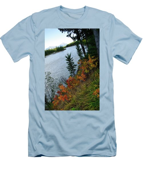 Natural Art Men's T-Shirt (Slim Fit) by Rhonda McDougall