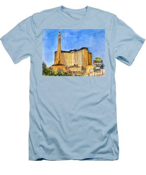 Paris Hotel And Casino Men's T-Shirt (Athletic Fit)
