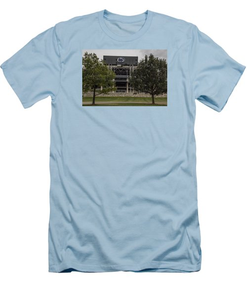 Penn State Beaver Stadium  Men's T-Shirt (Slim Fit) by John McGraw