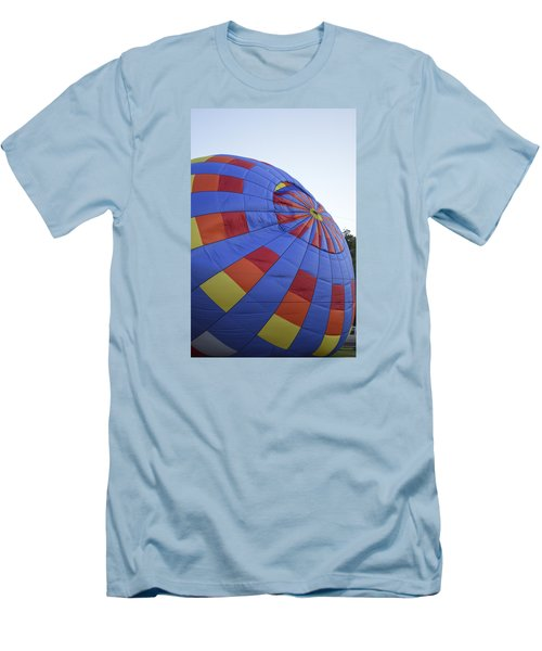 Men's T-Shirt (Slim Fit) featuring the photograph Preparing For Lift Off by Linda Geiger