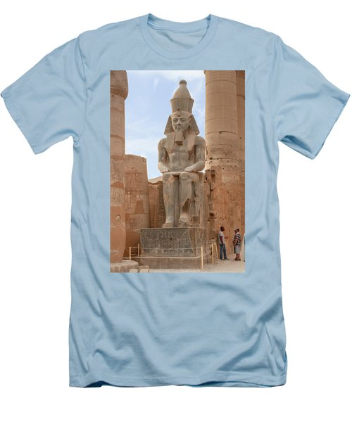 Men's T-Shirt (Athletic Fit) featuring the photograph Rameses by Silvia Bruno