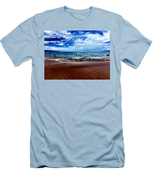 Relax Men's T-Shirt (Slim Fit) by Michael Albright
