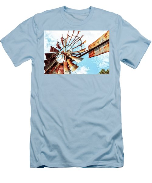 Rusted Windmill Men's T-Shirt (Athletic Fit)