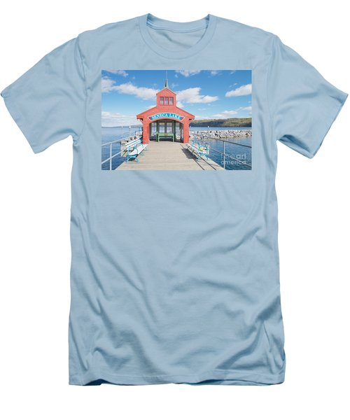 Men's T-Shirt (Slim Fit) featuring the photograph Seneca Lake by William Norton