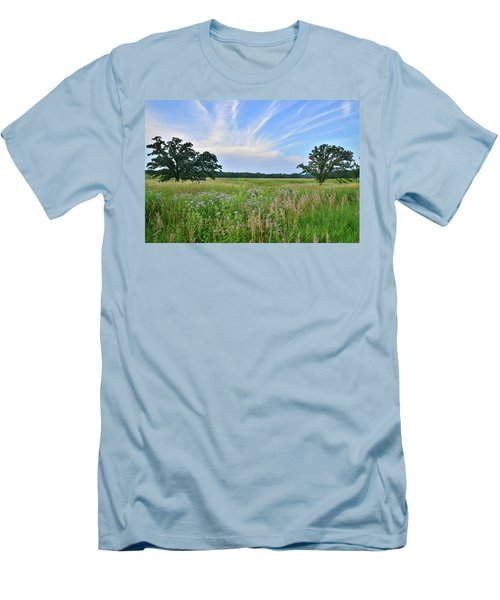 Silver Creek Conservation Area Sunset Men's T-Shirt (Athletic Fit)