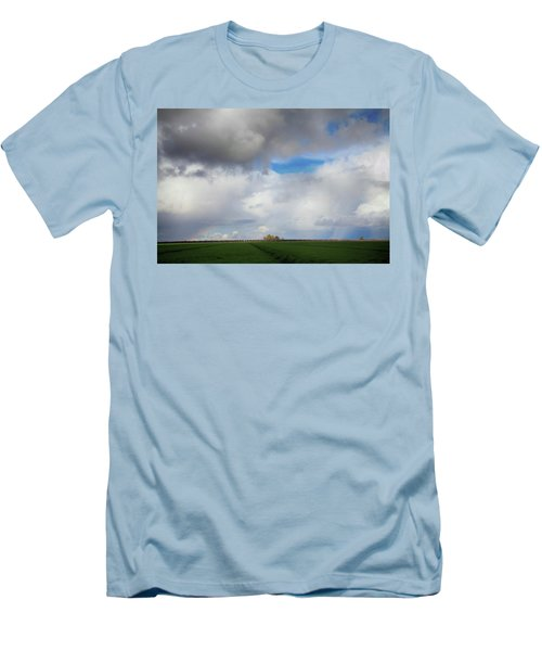 Men's T-Shirt (Slim Fit) featuring the photograph Skyward by Laurie Search