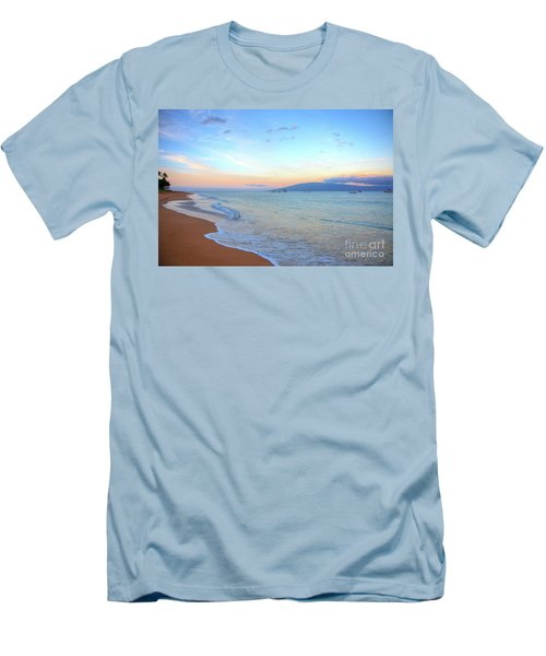 Sunrise On Kaanapali Men's T-Shirt (Athletic Fit)