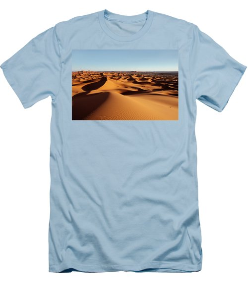 Sunset In Erg Chebbi Men's T-Shirt (Athletic Fit)