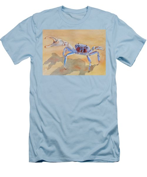 Talk To The Claw Men's T-Shirt (Slim Fit) by Judy Mercer