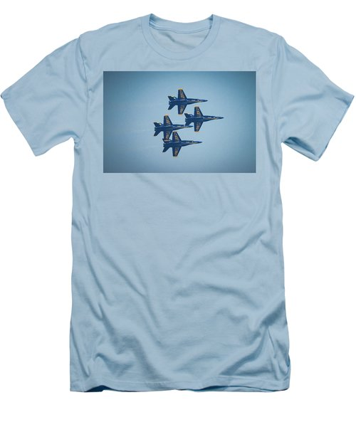 The Blue Angels Men's T-Shirt (Athletic Fit)
