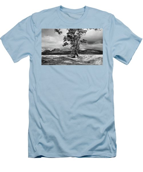 The Cazneaux Tree Men's T-Shirt (Slim Fit) by Bill Robinson