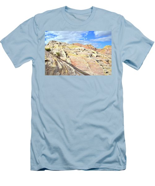 Top Of The World At Valley Of Fire Men's T-Shirt (Athletic Fit)
