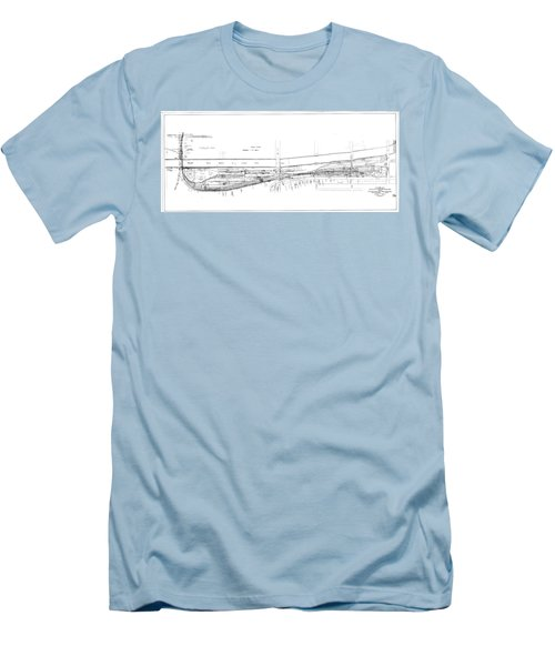 Valuation Map Boct Men's T-Shirt (Athletic Fit)