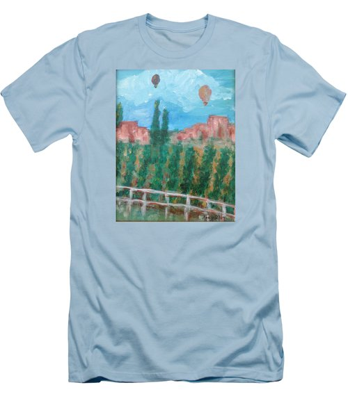 Wine Country Men's T-Shirt (Slim Fit) by Roxy Rich