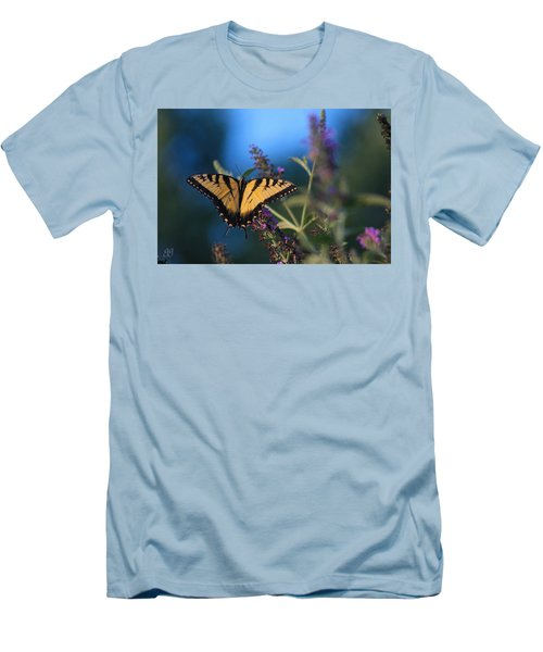 Men's T-Shirt (Slim Fit) featuring the photograph Summer Flight by Geri Glavis