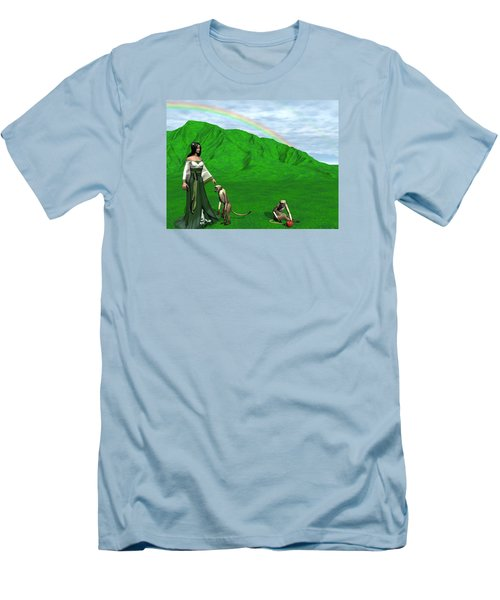 Year Of The Monkey Men's T-Shirt (Slim Fit) by Michele Wilson