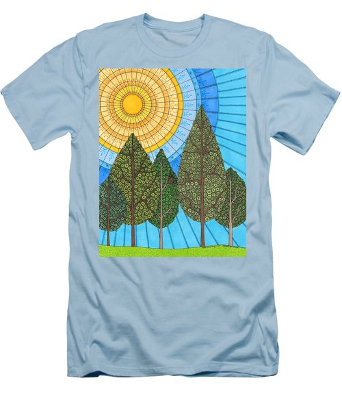 Yearning For Spring Men's T-Shirt (Athletic Fit)