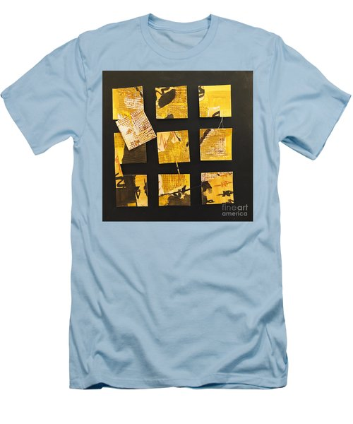 10 Square Men's T-Shirt (Slim Fit) by Gallery Messina