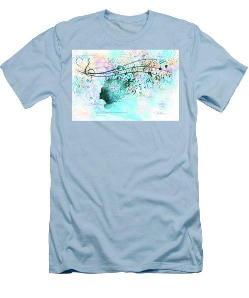 10846 Melodic Dreams Men's T-Shirt (Slim Fit) by Pamela Williams