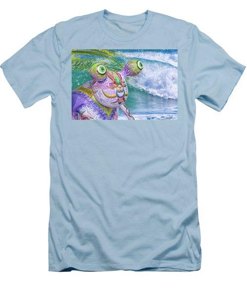 10859 Aliens In Paradise Men's T-Shirt (Athletic Fit)