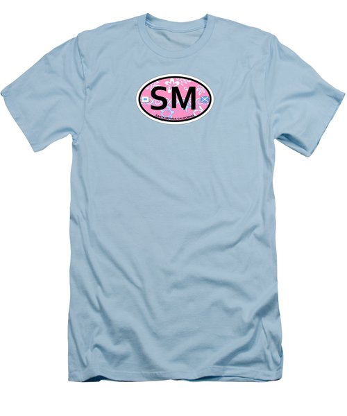 Santa Monica Men's T-Shirt (Slim Fit) by American Roadside