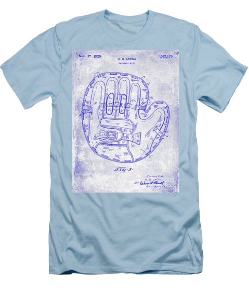 1925 Baseball Glove Patent Blueprint Men's T-Shirt (Athletic Fit)