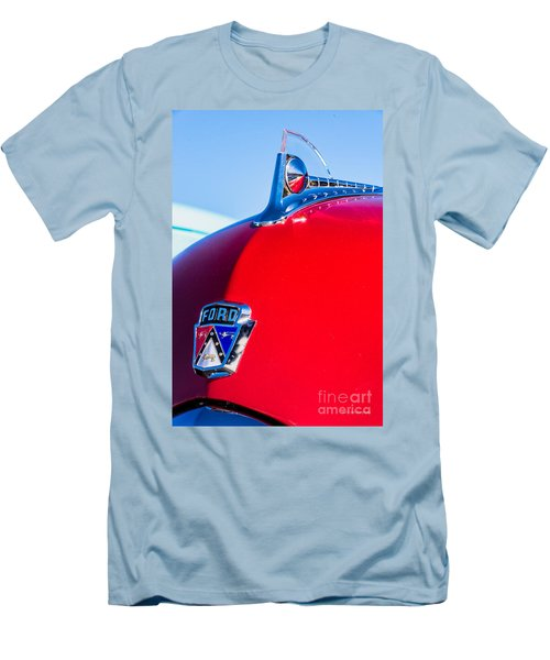 1950 Ford Hood Ornament Men's T-Shirt (Athletic Fit)
