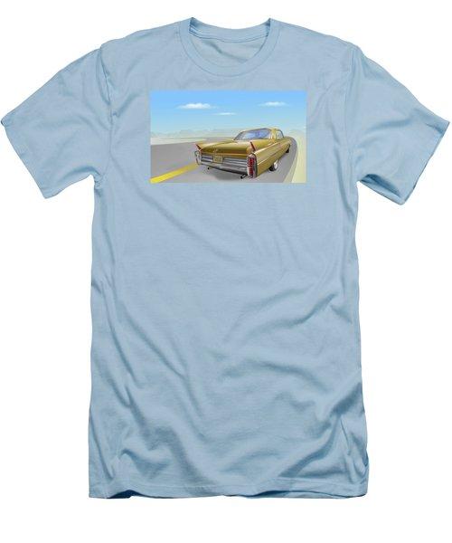 1963 Cadillac De Ville Men's T-Shirt (Slim Fit) by Marty Garland