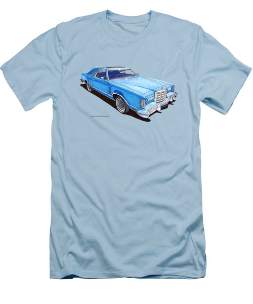 1979 Thunderbird Tee Shirt Art Men's T-Shirt (Athletic Fit)