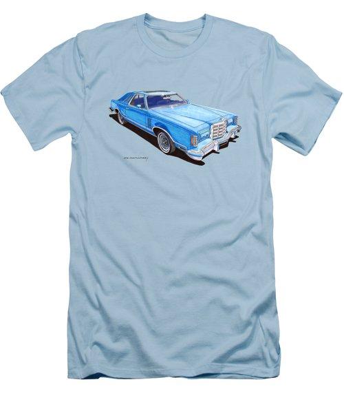 1979 Thunderbird Tee Shirt Art Men's T-Shirt (Slim Fit) by Jack Pumphrey