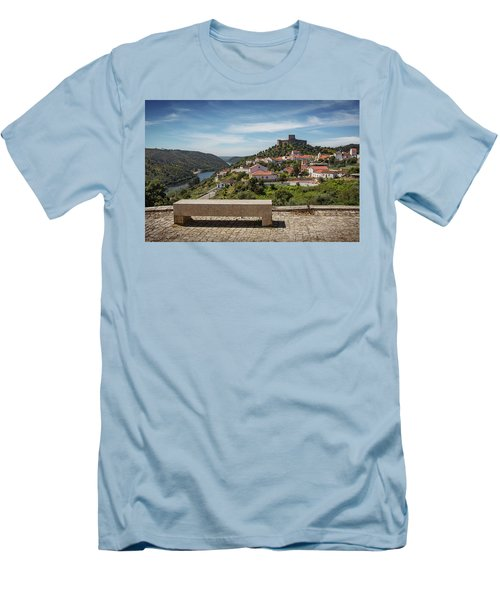 Men's T-Shirt (Slim Fit) featuring the photograph Belver Landscape by Carlos Caetano