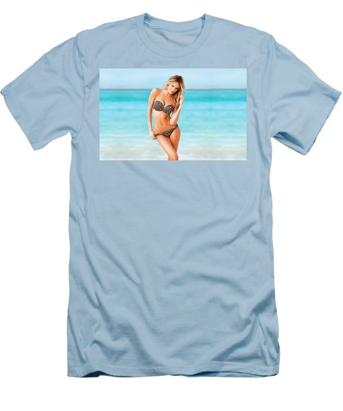 Candice Swanepoel Men's T-Shirt (Athletic Fit)