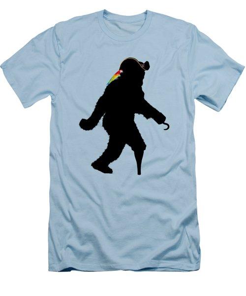Gone Squatchin Fer Buried Treasure Men's T-Shirt (Athletic Fit)