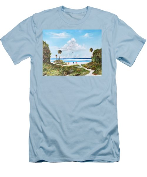 In Paradise Men's T-Shirt (Athletic Fit)