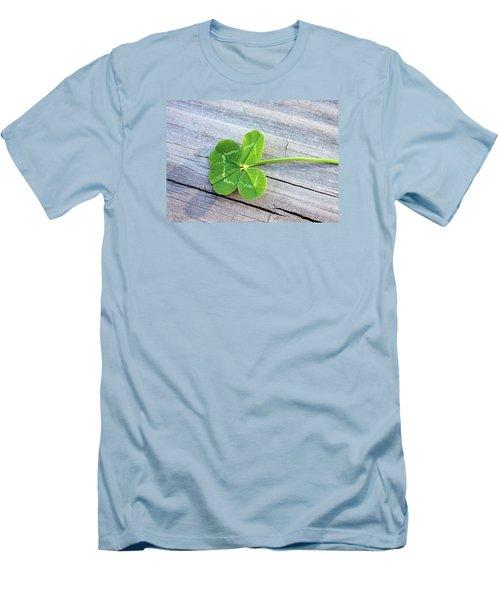 Lucky Men's T-Shirt (Slim Fit) by Kristin Elmquist